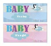Baby Shower Invitation Stock Photos