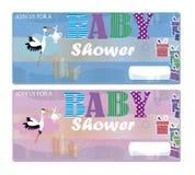 Baby Shower Invitation Stock Photo