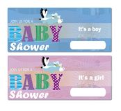 Baby Shower Invitation Royalty Free Stock Photo