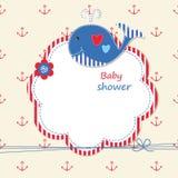 Baby shower med valet Royaltyfri Bild