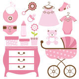 Baby shower pink Royalty Free Stock Photo