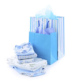 Baby shower presents Royalty Free Stock Images