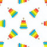 Baby shower seamless royalty free illustration