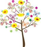 Baby shower tree. Fun tree for baby shower Stock Photo