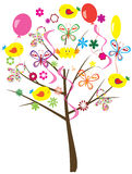 Baby shower tree Stock Images