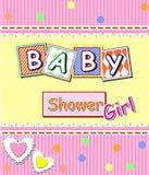 Baby showerflicka Royaltyfria Foton