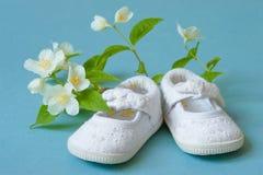 Baby showergarnering Arkivbild