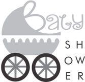 Baby showerinbjudan Royaltyfri Fotografi