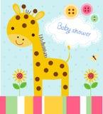 Baby showerkort Arkivbild