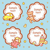 Baby showers Royalty Free Stock Image