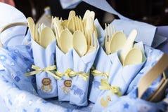 Baby showerservetter Royaltyfri Bild