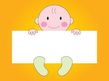 Baby Showing sign Royalty Free Stock Photo