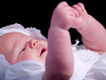 Baby Sign Language Stock Images