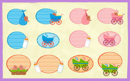 Baby Signs Stock Images