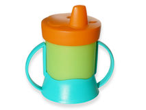 Baby sippy Royalty Free Stock Images