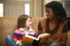 Baby-sitter do bebê Imagens de Stock