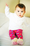 Baby sitting Royalty Free Stock Images