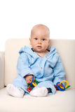 Baby sitting Royalty Free Stock Photo