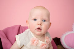 Baby Sitting Milestone Stock Photos