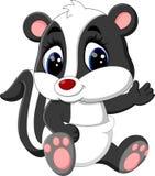 Baby skunk cartoon Royalty Free Stock Photo