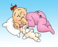 Baby sleep Royalty Free Stock Image