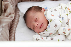 Baby sleeping Stock Photography