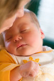 Baby sleeping Royalty Free Stock Image