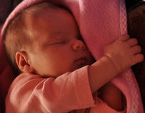 Baby sleeping Stock Photos