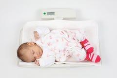 Baby sleeping Stock Photo