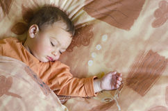 Baby sleeping Royalty Free Stock Photo