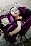 Baby sleeping Stock Image