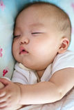 Baby is sleeping Royalty Free Stock Photo