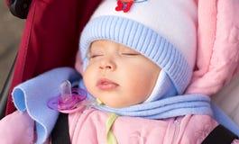 Baby sleeping Royalty Free Stock Image