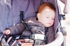 Baby sleeping peacefully Royalty Free Stock Photos