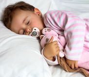 Baby sleeping Stock Photos