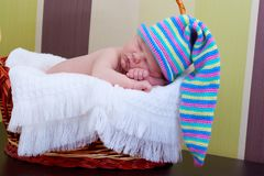 Baby sleeps Royalty Free Stock Image