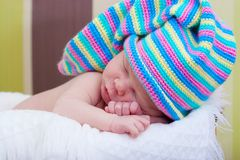 Baby sleeps Royalty Free Stock Photography