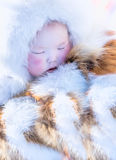 Baby sleeps Royalty Free Stock Photo