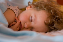 Baby sleeps Stock Image