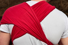 Baby sling Royalty Free Stock Image