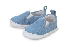 Baby slippers Stock Photography
