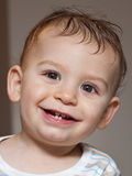 Baby smile Stock Images