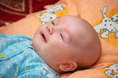 Baby smile Stock Photo