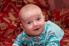 Baby smile Royalty Free Stock Photo
