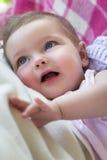 Baby Smiles Royalty Free Stock Photo