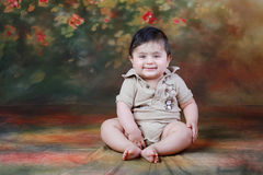 Baby smiling Royalty Free Stock Photo