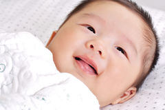 Baby smiling 2 Stock Images