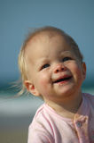 Baby smiling Royalty Free Stock Images