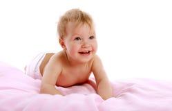 Baby smiling Stock Image