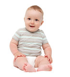 Baby smiling Stock Photos